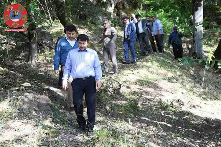 Abshar Farsian.x52886 - بازدید مهندس کریمی از آبشار فارسیان شهرستان گالیکش