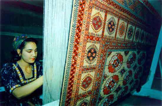 فرش ترکمن 1