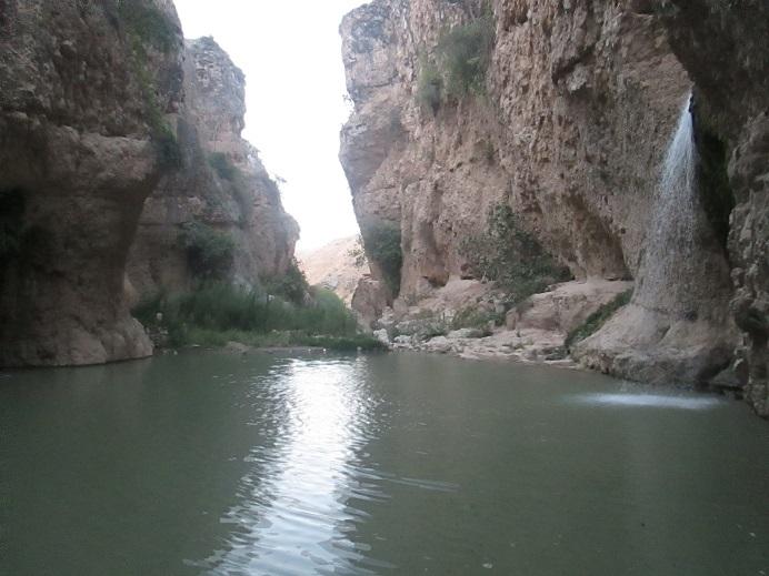 آبشار زیبای باللی قایا در نزدیکی مراوه تپه