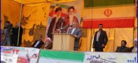 راهپیمایی ۲۲ بهمن در گنبد کاووس با شکوهتر از سالهای قبل برگزار شد