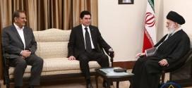 دیدار رهبر انقلاب با رئیس جمهوری ترکمنستان